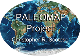 PALEOMAP Project, Christopher R. Scotese graphic