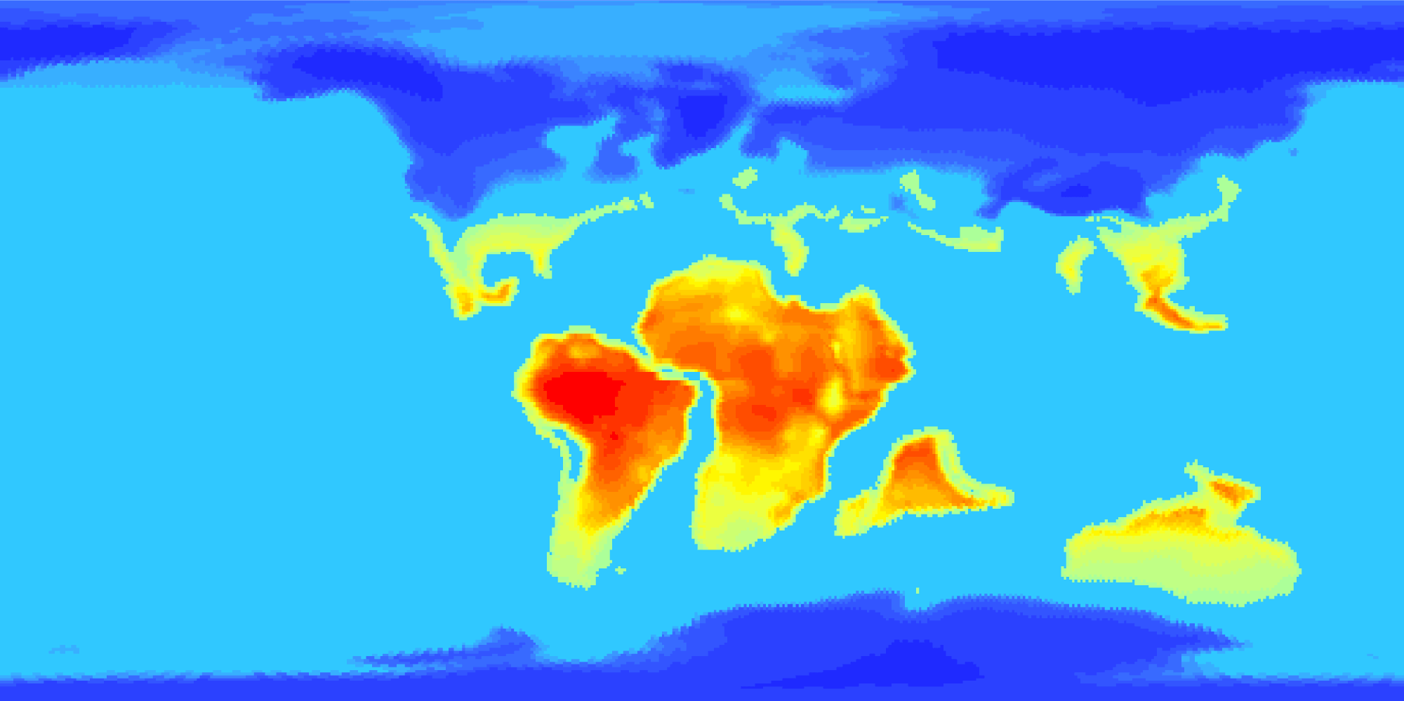 PaleoClimate™ sample output image