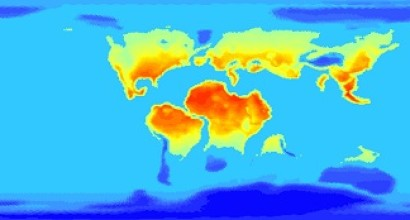 Surface Temperature: Summer, N. Hemisphere
